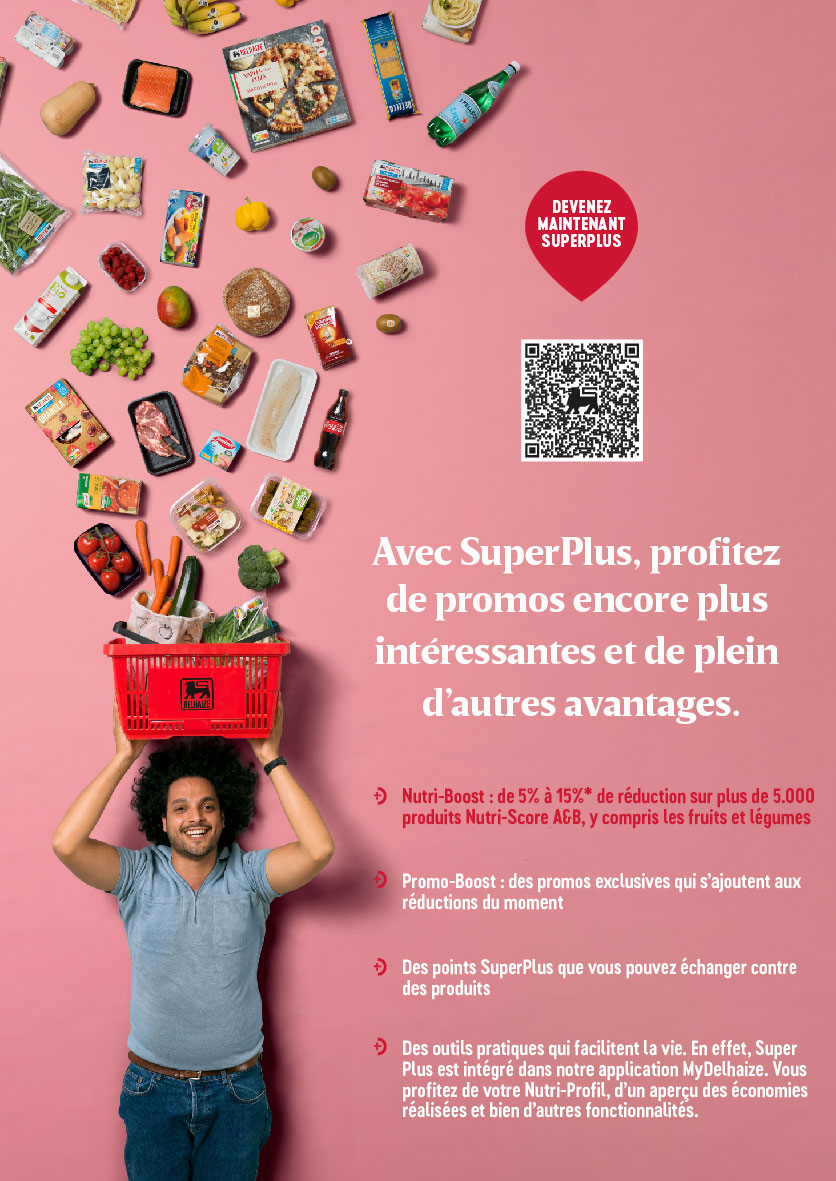 advertentie AD Delhaize Gembloux