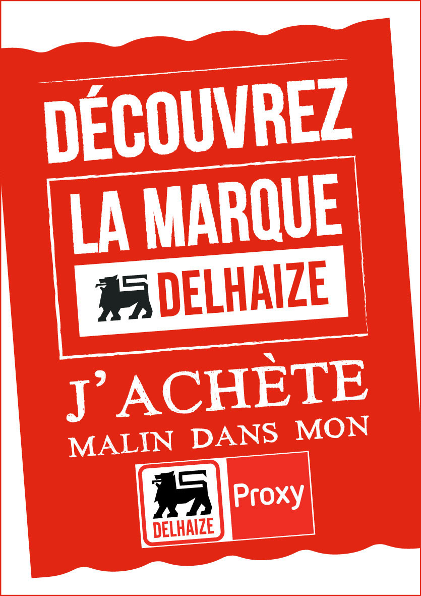advertentie Proxy Delhaize Jupille